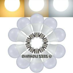 5W 7W 9W 12W LED A19 Light Bulbs Equivalent 40W 60W 75W 100W
