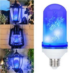 5W Led Flame Light Fire Effect Bulbs Outdoor Lights Indoor D