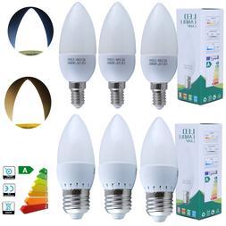 6/12/20X E27 3W=35Watt LED SMD Candle Light Bulb Lamp Chande