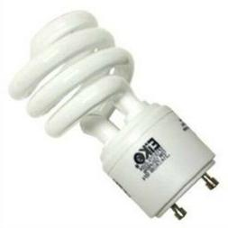 New 13W CFL Mini Spiral GU24 Base 2700K Soft White =60W Fluo