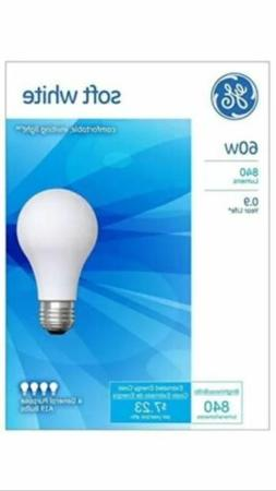 24 - GE 60 Watt Soft White Incandescent Light Bulbs, 6/4pk F
