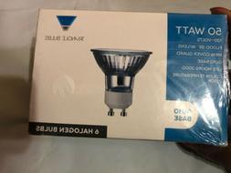 6 Triangle Bulbs GU10 Base Halogen Bulbs 50Watt New Free Shi
