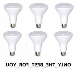 6 LED Light Bulbs Flood 11W BR30 2700K Soft White Dimmable 7