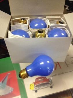 6 Pack 100w Ceramic Blue light bulb 130 V Bulbrite. 6 Bulbs