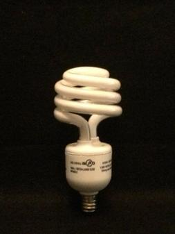 6 Pack 13 = 60w Candelabra Base 3500K Bright White CFL LIGHT