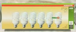 SYLVANIA 6-Pack 23W Equivalent 100W Soft White CFL Light Bul