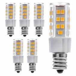 6-PACK 5W E12 LED Bulb, AC120V, 40W Halogen Equivalent E12 B