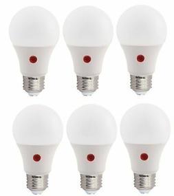 Bioluz LED 6 PACK Dusk to Dawn A19 Bulb Photocell Photosenso