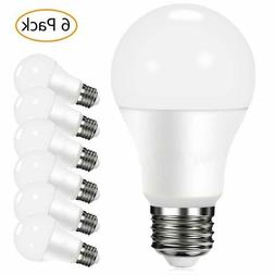 6 Pack LED Light Bulbs 100W Equivalent Non-Dimmable 2700K So