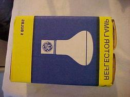 6 Vintage New Old Stock / NOS GE 25W Reflector Light Bulbs I