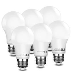 6 X 60 Watt Equivalent SlimStyle A19 LED Light Bulb 800lm Wa