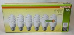 SYLVANIA 60-Watt EQ Soft White Light Fixture CFL Light Bulbs