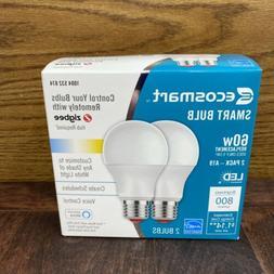 Ecosmart 60-Watt Equivalent A19 Dimmable SMART LED Light Bul