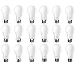 60 Watt Equivalent A19 LED Light Bulbs 8.5W 5000K Daylight D