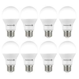 60-Watt Equivalent A19 Non-Dimmable LED Light Bulb Daylight