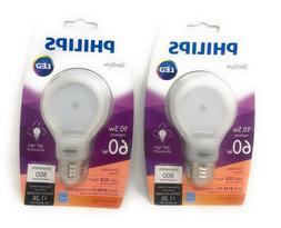 Philips 60 Watt Equivalent SlimStyle LED Light Bulbs Soft Wh
