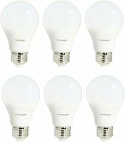 6 Pack 60 Watt Equivalent Soft White non Dimmable 15,000 Hou