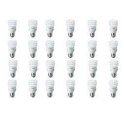 Philips 60-Watt Equivalent T2 Spiral CFL Light Bulb Soft Whi