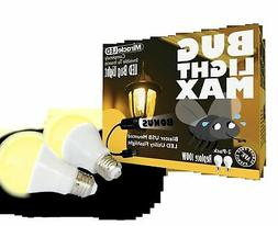 Miracle Led 604372 Led Bug Light Max 2Pk Outdoor Bulb For