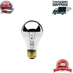 Bulbrite 60A19HM Half Chrome 60W A Shape Bulb  Set Bulb rite