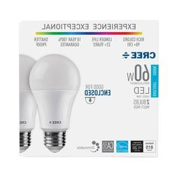 CREE 60W Equivalent Daylight  A19 Dimmable LED Exceptional L