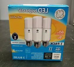 GE Lighting 63589 LED Brightstik 9-watt , 800-Lumen Light Bu