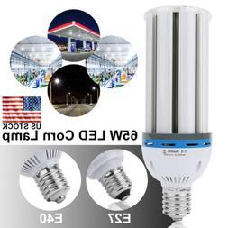 65W E27 E40 Equivalent LED Corn Light Bulbs Cool Daylight 65