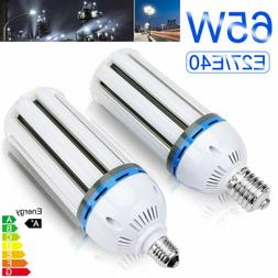 65W E40/E27 LED Corn Light Bulbs for Garage 6500K Daylight 3
