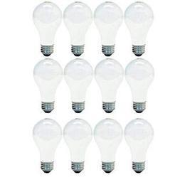 GE Lighting 66247 Soft White 43-Watt, 620-Lumen A19 Light Bu