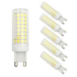 6pcs G9 Led Light Bulb 102-2835SMD LED 9W 110V 120V Ceramics