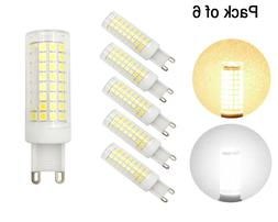 6pcs G9 Led Light Bulb 102LED 9W 110V 120V Ceramics Light Da