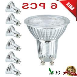 6x GU10 Base 5W SMD LED Light Bulbs Equivalent Spotlight 600
