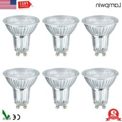 6x GU10 LED Light Bulbs 50W Equivalent Halogen 6000K Dayligh
