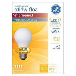GE Lighting 70284 Soft White Long Life 72-Watt , 1270-Lumen