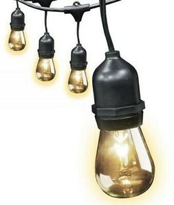 FEIT ELECTRIC 72041 STRING LIGHTS, 30', CLEAR