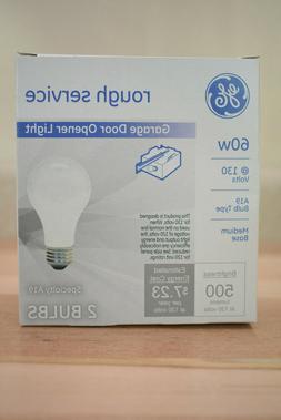 GE 100w 120v A-Shape A19 Soft White Long Life Incandescent l