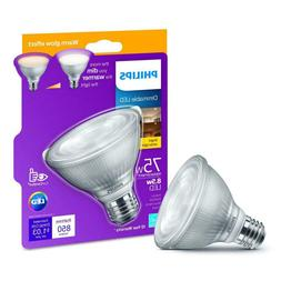 Philips 75-Watt Equiv Bright White PAR30S Dimmable LED Light