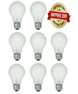 100 Watt Incandescent Light Bulbs 1000 Lumens A19 Soft White