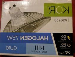 KOR 75R111/GU10/FL - 75-Watt Halogen R111 Reflector - GU10 B