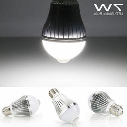 7W 9W Motion Sensor E27 LED Light Bulb Smart Infrared Auto S