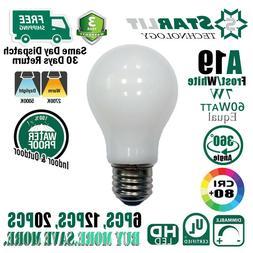 7W A19 Filament LED Bulbs Equivalent 60W soft white Daylight
