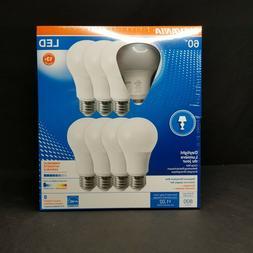 8 60w led a19 light bulbs daylight