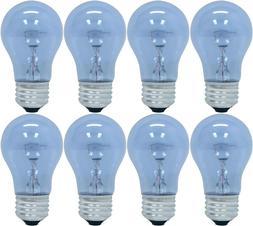 8 BULBS GE LIGHTING 48698 REVEAL® MEDIUM-BASE A15 CEILING F