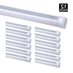 12Pack 8 Foot Led Tube Light Bulbs 72W 8FT T8 Integrated 8'