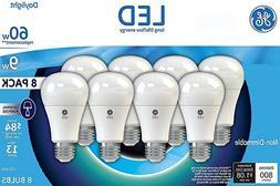 8 GE Lighting LED Daylight 60w Replacement  5000K < LEDA19 >