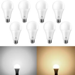 8 Pack 13W A21 E26 LED Bulbs 100 Watt Equivalent Flood Light