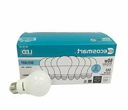 Ecosmart 8 Pack A19 - 60 Watt Equivalent Daylight  LED Light