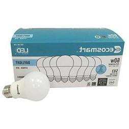 Ecosmart 8 Pack A19 - 60 Watt Equivalent Daylight  LED Light