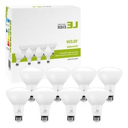 8 pack BR30 LED 10.5W 5000K Daylight White Indoor Flood Ligh