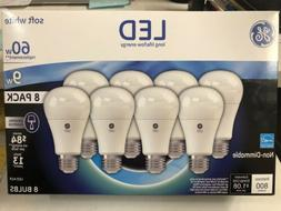 8 PACK of GE LED 9w soft white light bulbs **FREE SHIPPING!!